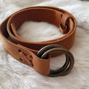 Banana Republic Made In Italy Genuine Leather Belt